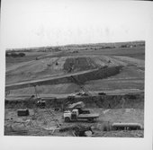 Reservoir construction in Franklin County , Kansas