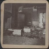 A saloon wrecked by Carry Nation, Enterprise, Kansas