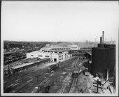 Atchison, Topeka & Santa Fe Railway Company's roundhouse, Argentine, Kansas