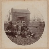 Heikes and Knisely family and farm near Industry, Kansas