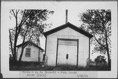 Atchison, Topeka & Santa Fe Railway Company pump house, Viola, Kansas