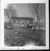 Ralph and Keturah Prickett's cabin at Council Grove Lake, Morris County, Kansas