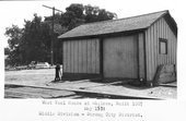 Atchison, Topeka & Santa Fe Railway Company tool house, Abilene, Kansas