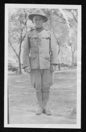 William Harold Sanders, World War I soldier