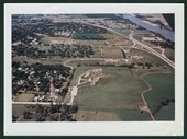 Aerial views of the Menninger Clinic Children's Division in Topeka, Kansas