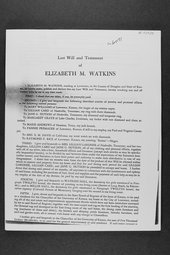 Elizabeth Miller Watkins legacy collection