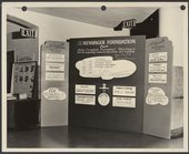 An early exhibit about the Menninger Foundation in Topeka, Kansas