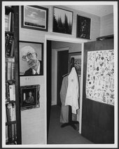 Dr. Karl Menninger's office in Menninger Clinic at Topeka, Kansas