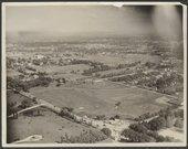 Aerial view of Menninger Sanitarium in Topeka, Kansas, 1932