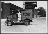 Steffen's delivery truck, Wichita, Kansas