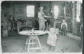 Gustaf Berquist's Blacksmith Shop, Weskan, Kansas