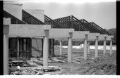 Construction of the Kansas State Historical Society's museum in Topeka, Kansas