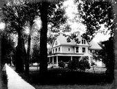 Mr. Lawrence's residence in Garden City, Kansas