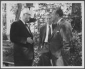 Dr. Karl Menninger filming Twentieth Century, Age of Anxiety