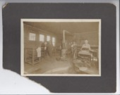 Newspaper printing shop, Rossville, Kansas