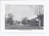 Main street, Rossville, Kansas