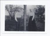 Mr. and Mrs. Henry and Mary Ford, Rossville, Kansas