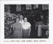 Ruth Page, John Simeka, and Melba Gentry, Rossville, Kansas