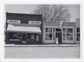 Hy-Klas Food Stores and Hurley's Sundries stores, Rossville, Kansas