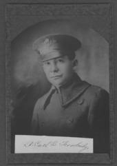 Carl B. Trowbridge, World War I soldier