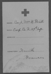 William McKinley Pratt, World War I soldier