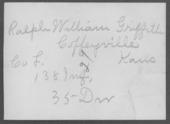 Ralph William Griffith, World War I soldier