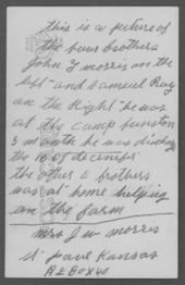 John T. Morris, World War I soldier