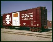 Grain loading boxcar