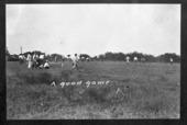 Baseball players, Barton County, Kansas
