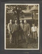 William Allen White and President Theodore Roosevelt