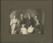Henry O. and Emma Newton with their children and grand children