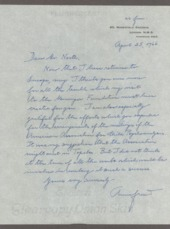 Anna Freud correspondence
