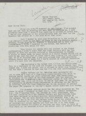 Walker Winslow correspondence