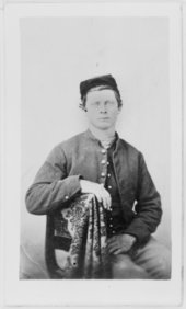 Members of the 12th Kansas Infantry, Company F