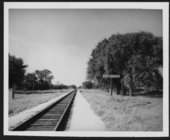 Railroad structures in Carlyle, Kansas