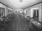 Interior views of the clubhouse at Lake Quivira, Kansas