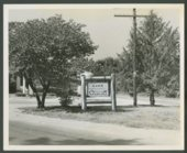 Sign at Lake Quivira, Kansas