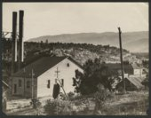 View of a town, possibly in Colorado