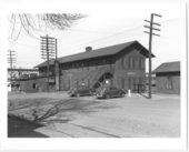 Atchison, Topeka & Santa Fe Railway Company station, Purcell, Oklahoma