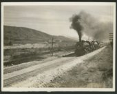 Atchison, Topeka & Santa Fe Railway Company's steam locomotive #2734