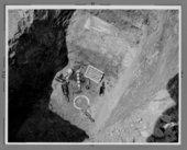 Archeological dig at Fort Hays, Kansas