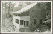 Charles Hadsall house at the Marais des Cygnes Massacre State Historic Site, Linn County, Kansas