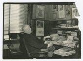 William Allen White and family photographs