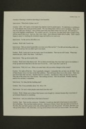 Gordon Lee Coats interview, WWII oral history, Kinsley, Kansas
