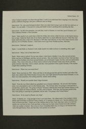 Robert Stach interview, WWII oral history, Dodge City, Kansas