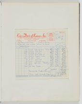 Ken Berry Baseball League and Southwest Youth Athletic Association, Inc. scrapbook
