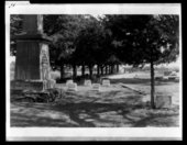 Grave markers for the last Indian Raid in Kansas
