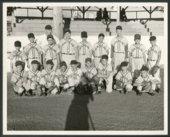 Little League baseball team in Silver Lake, Kansas