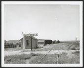 Atchison, Topeka and Santa Fe Railway Company depot, Hessdale, Kansas