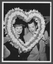 Atchison, Topeka & Santa Fe Railway Company's famous passengers--Lucille Ball and Desi Arnaz